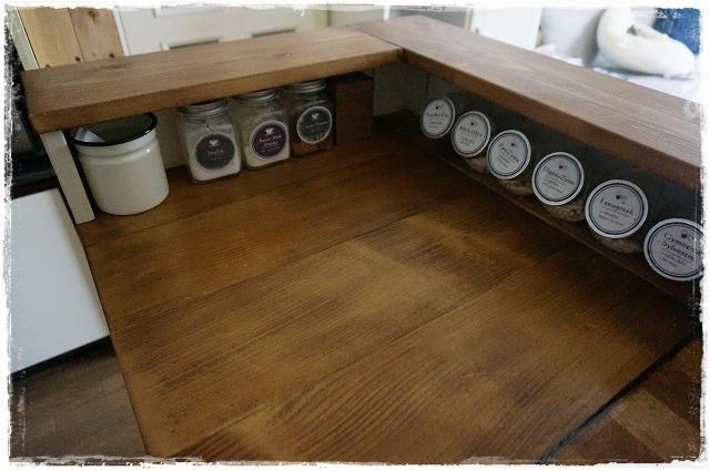 キッチンカウンター前面11