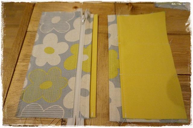母子手帳ケースの作り方1