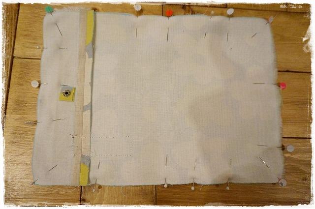 母子手帳ケースの作り方5