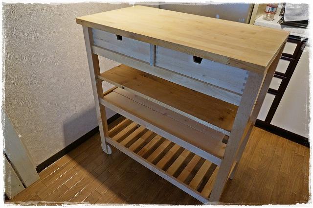 IKEAサイドボード7